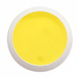 Gel couleur jaune canari