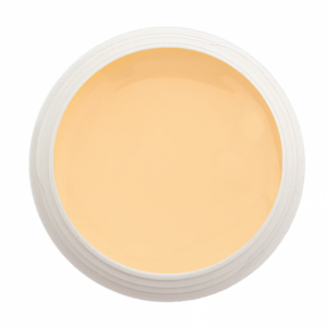 Gel couleur orange pastel
