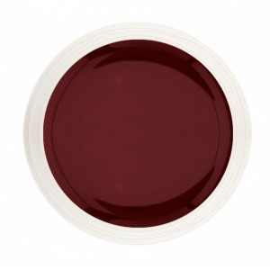 Gel couleur red wine
